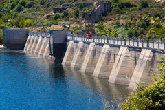 Dam at Encoro de Prada Stock Image