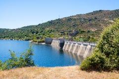 Dam at Encoro de Prada Stock Image