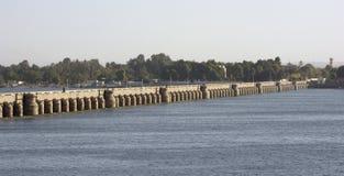 Dam in Esna Royalty Free Stock Image