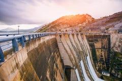 Dam in Europa en Italië Royalty-vrije Stock Afbeelding