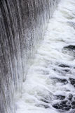 Dam with flowing water Royalty Free Stock Photo