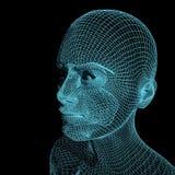 Dam från ett raster 3d vektor illustrationer