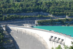 Dam in france Stock Images