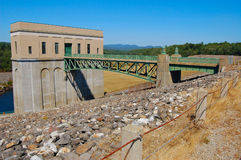 Dam at franklin falls Stock Image