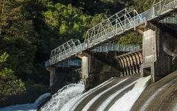 Dam Gates Royalty Free Stock Photo