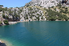 Dam of Gorg Blau Royalty Free Stock Photos