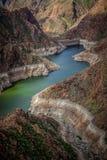 Dam in gran canaria Royalty Free Stock Photos