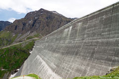 Dam Grand Dixence Royalty Free Stock Image