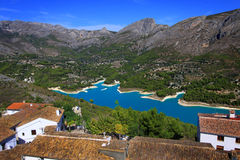 Dam of Guadalest II Stock Images