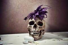 Dam halloween Royaltyfri Fotografi