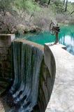 Dam in het eiland van Rhodos Stock Afbeeldingen