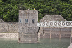 Dam in hongkong Stock Image