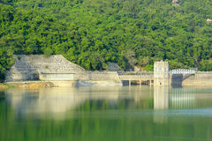 Dam in hongkong Stock Photo