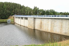 Dam Husinec Royalty-vrije Stock Afbeeldingen