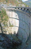 Dam of a hydroelectric plant to produce electricity Stock Photo