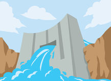 Dam icon Royalty Free Stock Image