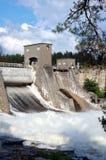 Dam Imatrankoski in Imatra. Finland Royalty Free Stock Photos