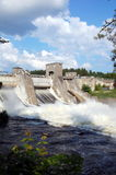 Dam Imatrankoski in Imatra Royalty Free Stock Image