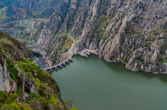 Dam international douro natural park Royalty Free Stock Images