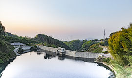 Dam in Japan Stock Photography