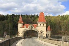 Dam in Kralove nad Labem Stock Image