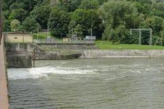 Dam lake stock photography