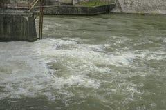Dam lake royalty free stock images