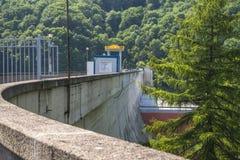 Dam lake Royalty Free Stock Photo