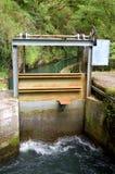 Dam. Leizaran Valley Royalty Free Stock Photos