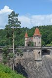 Dam les kralovstvi. Beautiful historic dam les kralovstvi in the czech republic Stock Photos