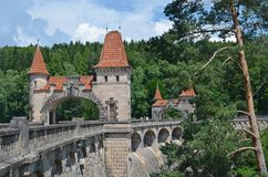 Dam les kralovstvi. Beautiful historic dam les kralovstvi in the czech republic Stock Photography