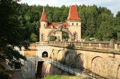Dam Les Kralovstvi in Bílá Třemešná, Czech Republic Stock Image