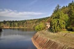 The dam Les Kralovstvi Stock Image
