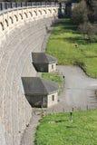 Dam of the Lingesetalsperre Royalty Free Stock Photo