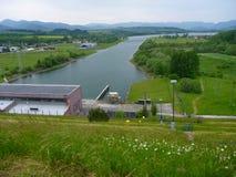 Dam Liptovska Mara in Slovakia royalty free stock photos