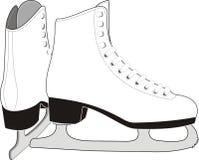 dam lodowe łyżwy s Obrazy Stock