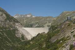 Dam of the Maltatal. Carinthia, Austria Stock Photo