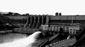 Dam of Moragahakanda Stock Photo