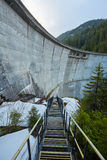 Dam in the mountains Stock Photo