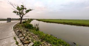 Dam Nai lagoon. In hue , Viet Nam Stock Image