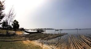 Dam Nai lagoon. In hue , Viet Nam Stock Photography