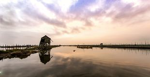 Dam Nai lagoon. In hue , Viet Nam Stock Photos