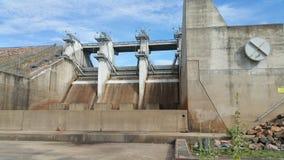 Dam. No rain , dry weather,  building Stock Photo