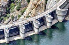 Dam Of Aldeadavila Stock Photos