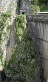Dam op Sauris-Meer Stock Afbeeldingen