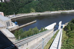 Dam Orlik Royalty Free Stock Images