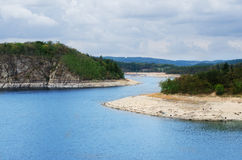 Dam Orlik , Czech republic Royalty Free Stock Images