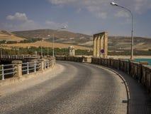 Dam over Rio Alhama, Spain Stock Images