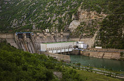 Dam in Raska Gora. Bosnia and Herzegovina Royalty Free Stock Image