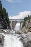Dam Release Stock Image